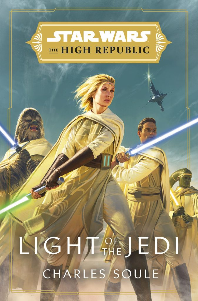 Cover of Light of the Jedi